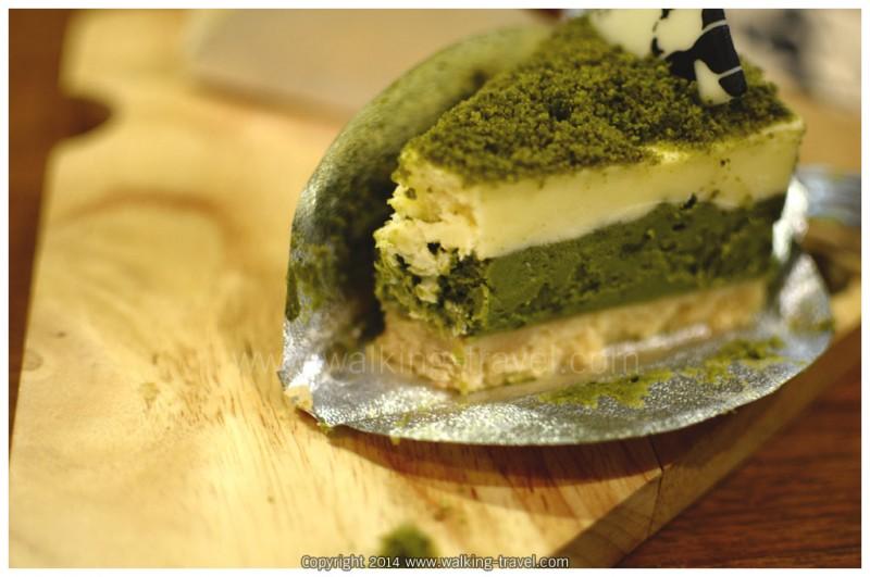 ชีสเค้กญี่ปุ่น ชาเขียว matcha