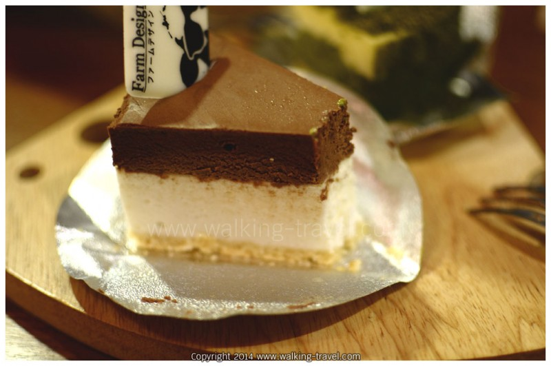 ชีสเค้กญี่ปุ่น ช็อคโกแลต
