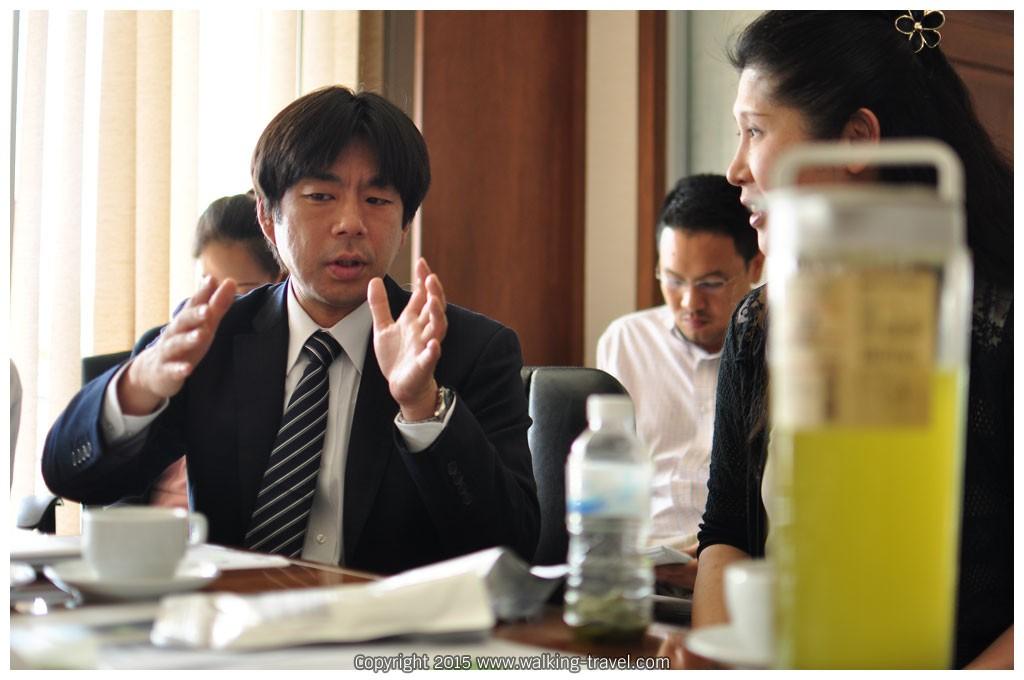 คุณคาสึโทชิ ฟุรุฮาชิ Director Maruzen Foods (Thailand) Co.,Ltd.