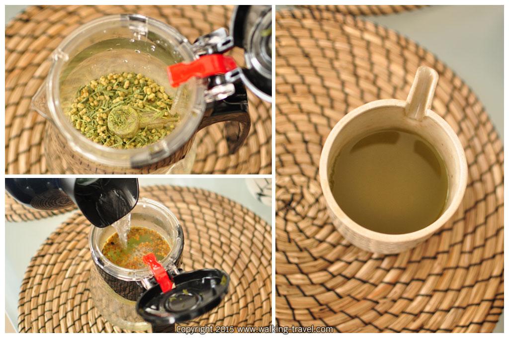 ชาเขียวเกนมัยชะ