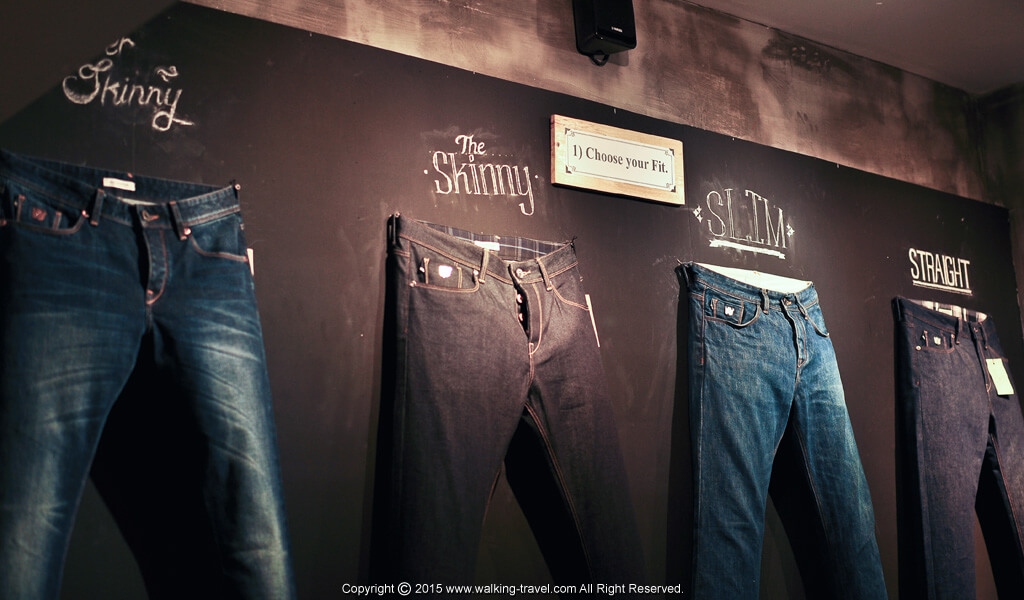 ทรงกางเกงยีนส์